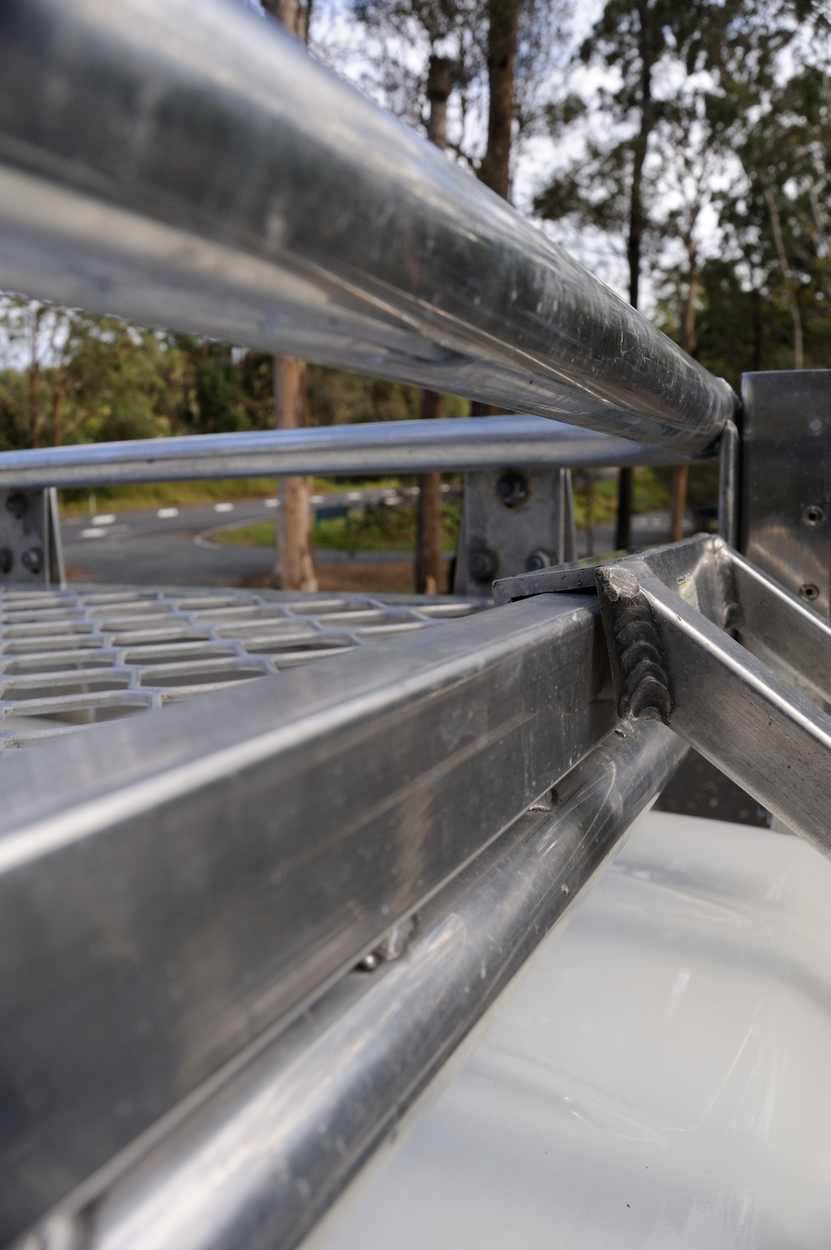 Rear Ladder Hanging Rail