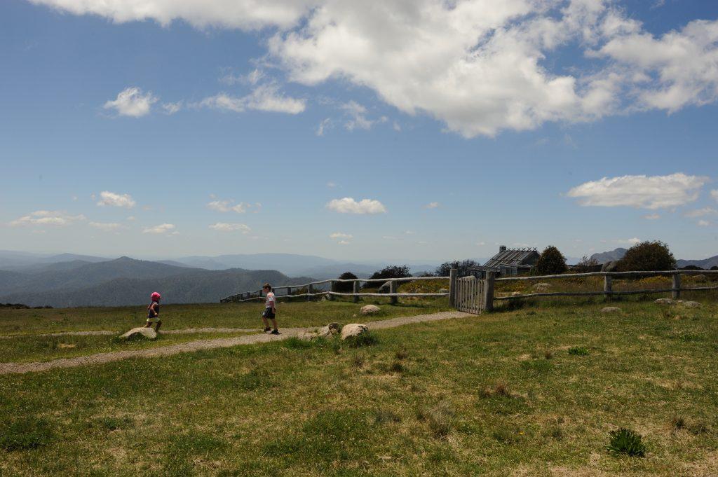 View at Craig's Hut - Alpine National Park