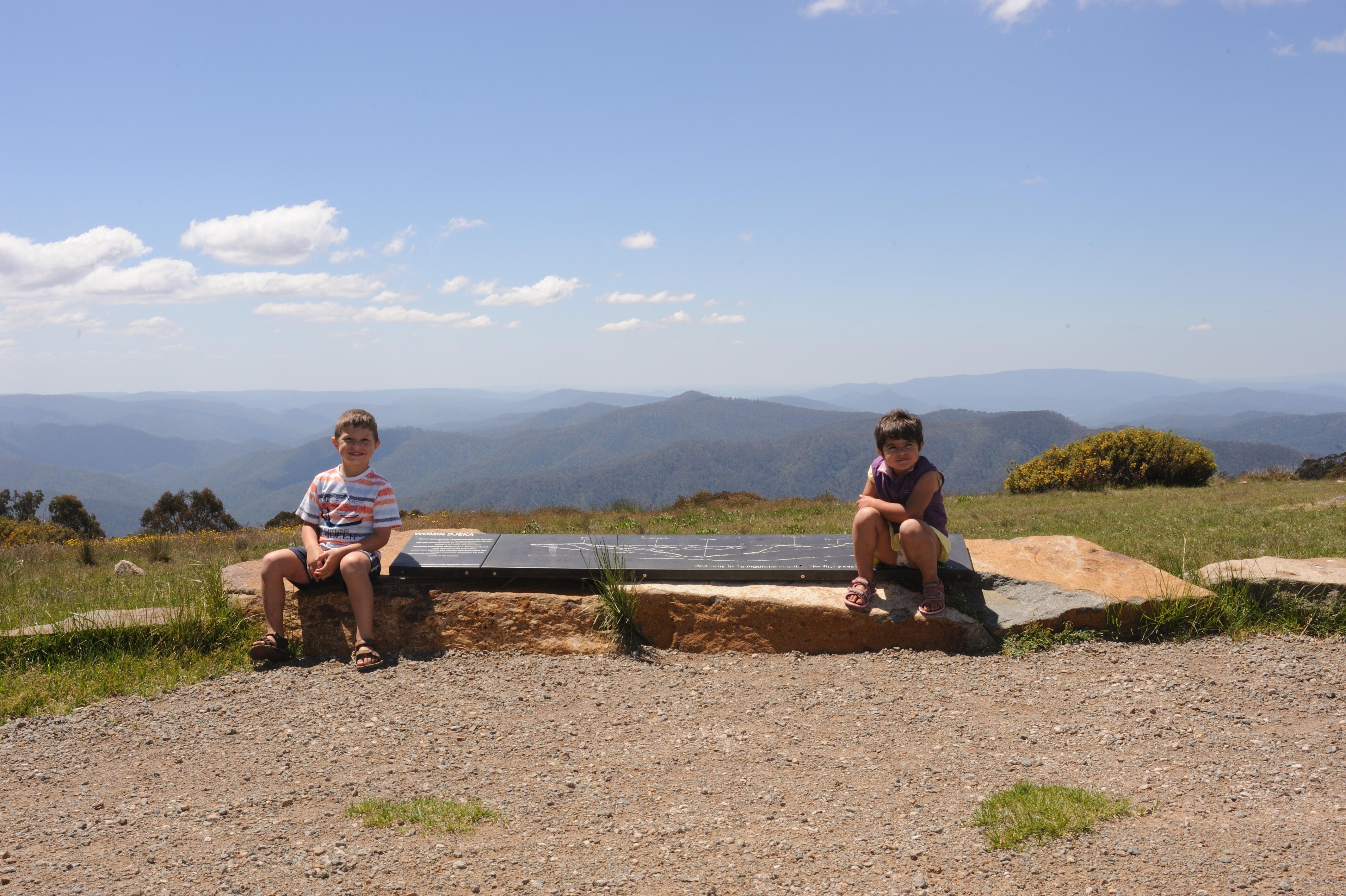View at Craigs Hut - Alpine National Park