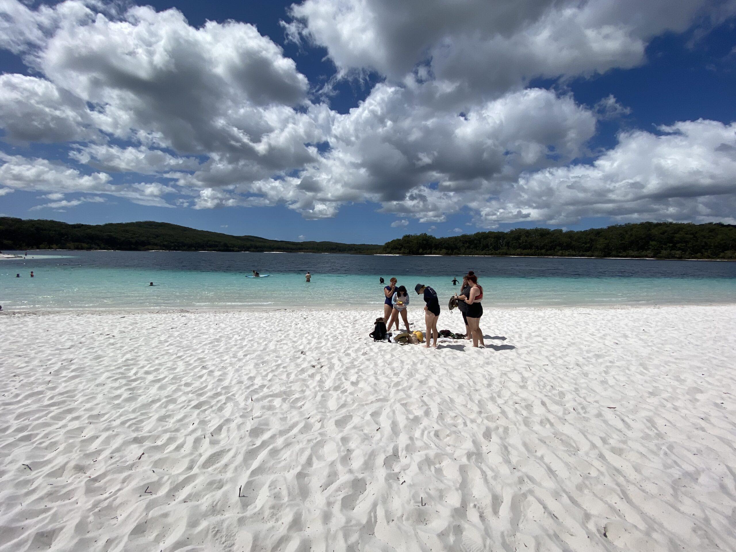 White Sand of Lake Mckenzie