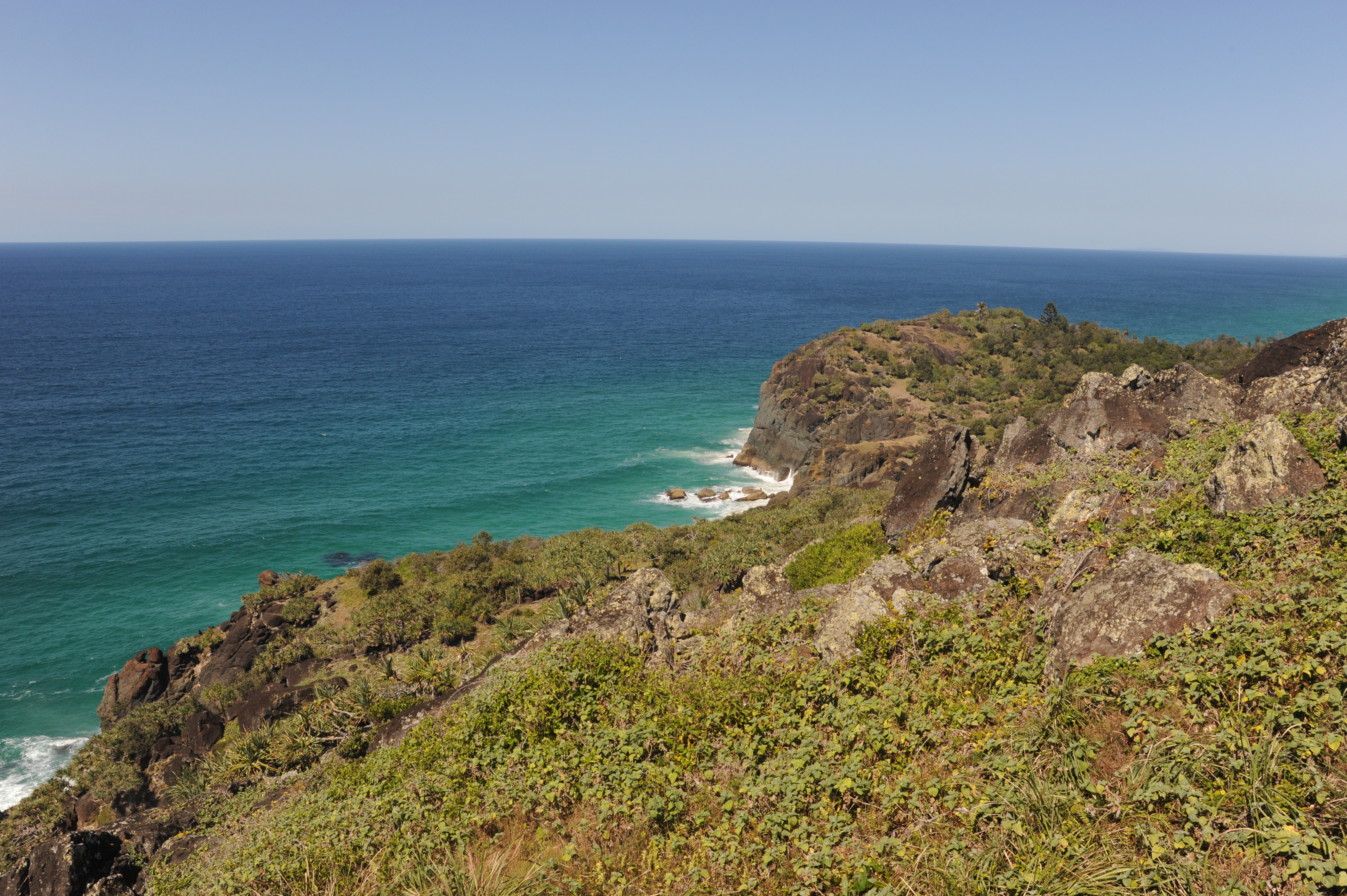 View East from Double Island Point Lighthouse