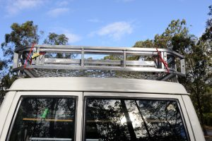Roof Rack Ladder Mounting - Rear